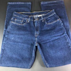 Levis 515 Women's 8M Boot Cut Lower Rise Jeans EUC